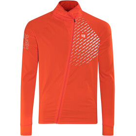 Compressport Hurricane V2 Running Jacket red